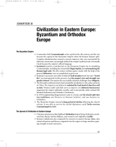 Civilization in Eastern Europe