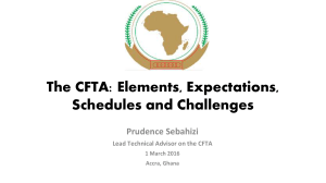 Overview of the CFTA - CSOs Consultations in Accra - twn