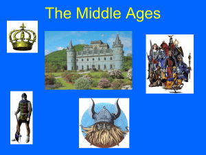 The Middle Ages - East Central ISD