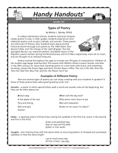 Handy Handouts - Super Duper Publications