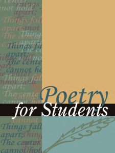 Poetry for Students - Global Public Library