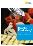 Healthy Fundraising - Cancer Council NSW