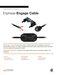 Engage Cable System and Accessories