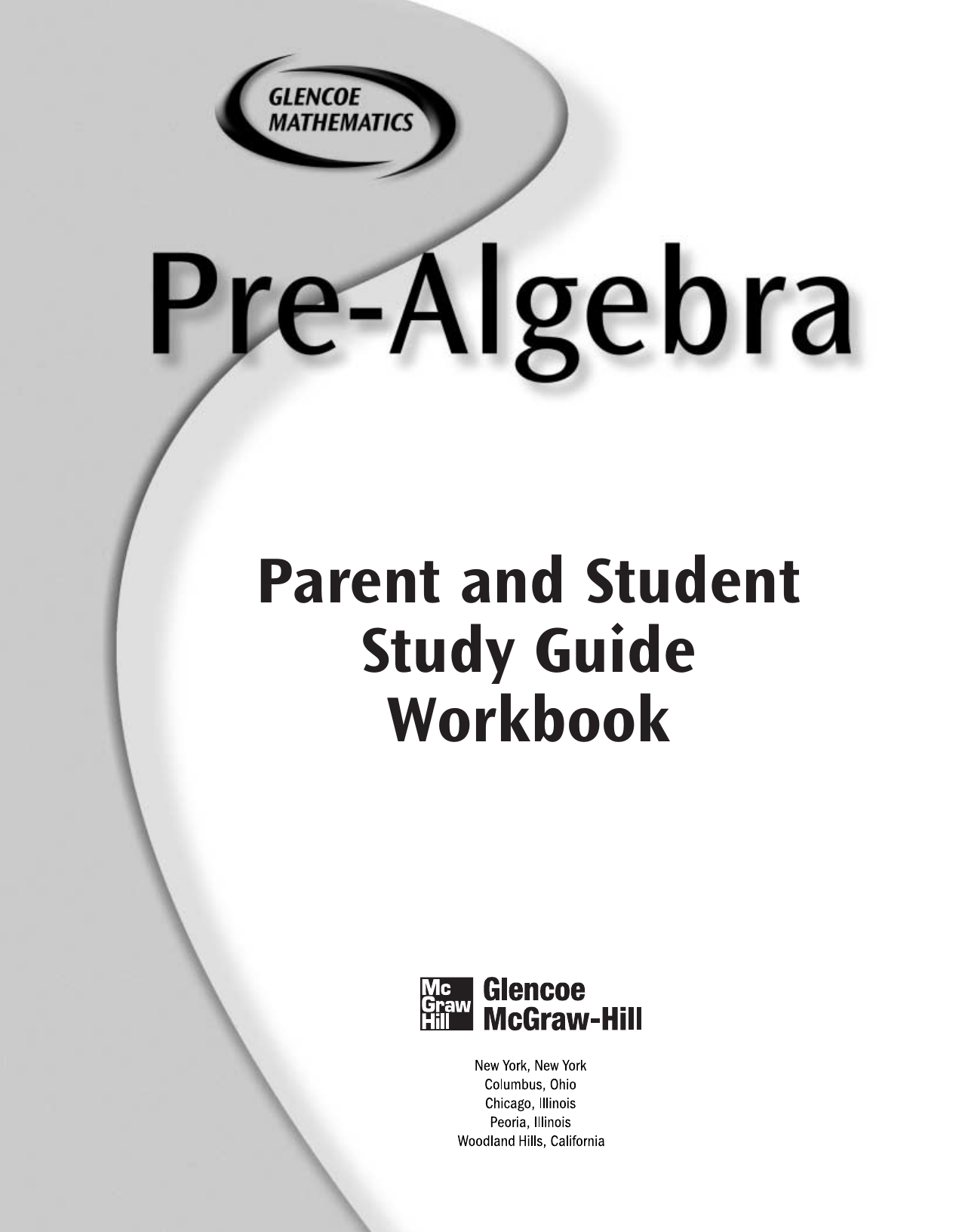 Parent And Student Study Guide Workbook