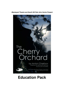 The Cherry Orchard Education Pack