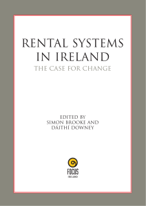 Rental Systems in Ireland: The Case for Change