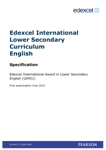 Specification June 2012, | PDF 269.9 KB - Edexcel