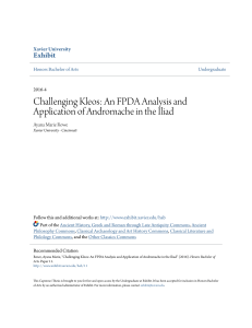 Challenging Kleos: An FPDA Analysis and Application