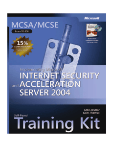 MCSA/MCSE Self-Paced Training Kit (Exam 70-350