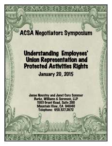 Understanding Employees` Union Representation