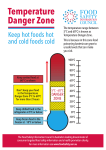 Temperature Danger Zone - Food Safety Information Council