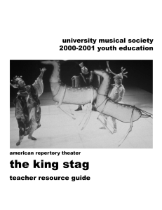 the king stag - University Musical Society