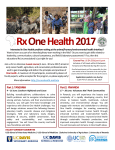 Rx OneHealth 2017 - UC Davis School of Veterinary Medicine