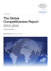 The Global Competitiveness Report 2013–2014 - WEF