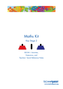 Maths Kit