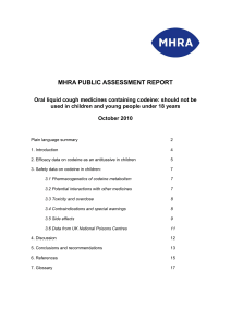 MHRA PUBLIC ASSESSMENT REPORT