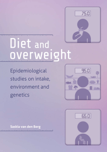 Diet and overweight