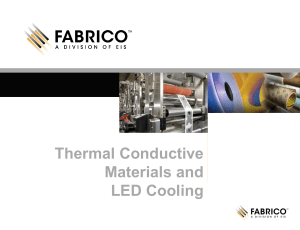 Thermal Conductive Materials and LED Cooling