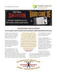 Sun System Releases Hard Core DE Ballast The first magnetic Hard