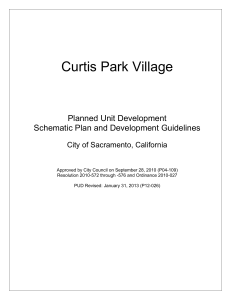 Curtis Park Village - City of Sacramento