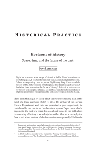 Historical practice - Scholars at Harvard
