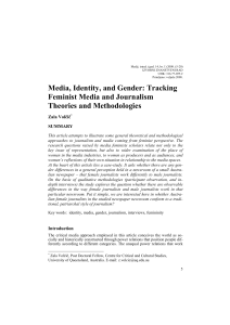 Media, Identity, and Gender: Tracking Feminist Media and