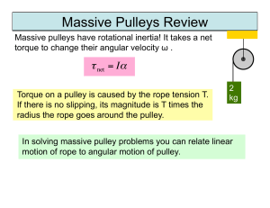 Massive Pulleys Review