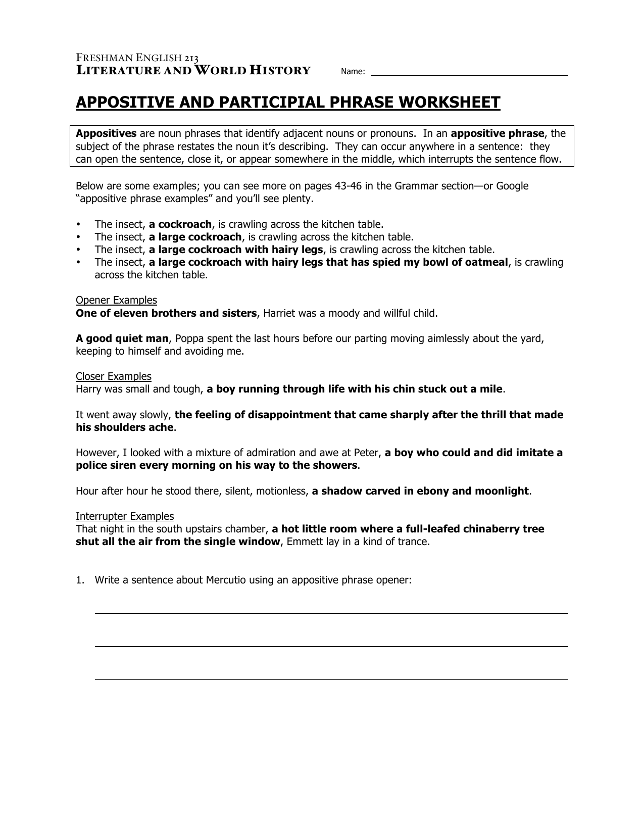 Worksheets Appositives Worksheet 013106657 1 af9bbe5de8f19380e6176e965b61f0b1 png
