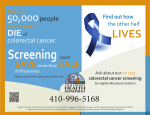 Colorectal Cancer - Cecil County Health Department