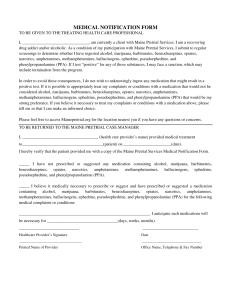 medical notification form