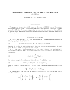 Determinant formulas for the reflection equation algebra