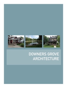 Downers Grove Architecture
