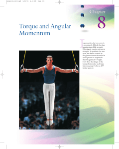 Torque and Angular Momentum - McGraw Hill Higher Education
