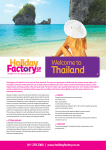 Thailand - Holiday Factory