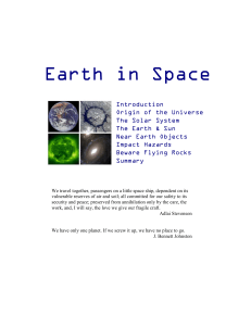 02. Earth in space