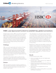 HSBC uses Sponsored Content to drive 40000+ interactions and
