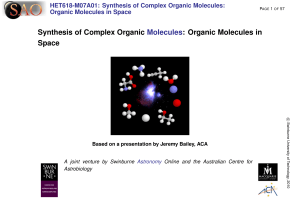 Synthesis of Complex Organic Molecules