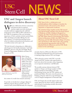 Winter 2016 USC Stem Cell Newsletter