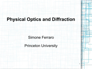 Physical Optics and Diffraction