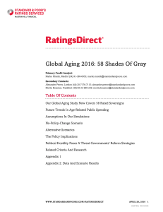 Global Aging 2016: 58 Shades Of Gray