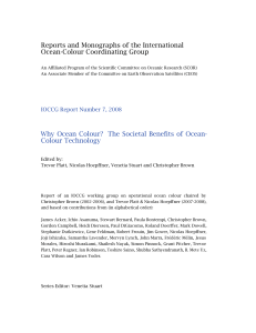 Reports and Monographs of the International Ocean