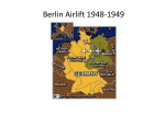 Berlin Airlift 1948-1949