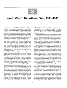 World War II: The Atlantic War, 1941-1945