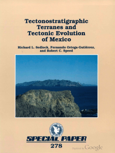 Tectonostratigraphic Terranes and Tectonic Evolution of Mexico