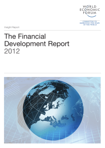The Financial Development Report 2012 - WEF