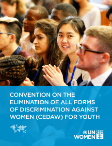 (cedaw) for youth
