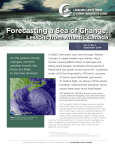 Forecasting a Sea of Change