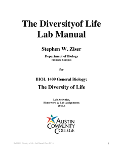 1409 Lab Manual - Austin Community College