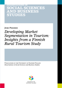 Developing Market Segmentation in Tourism