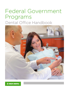 Federal Government Programs